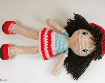 Amigurumi Doll Arms : Pattern doll crochet pattern amigurumi doll pattern