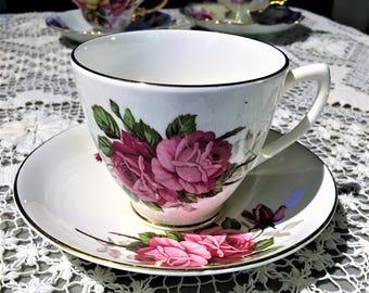 Unknown Rose Tea Cup