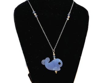 A Whale of a Time Necklace
