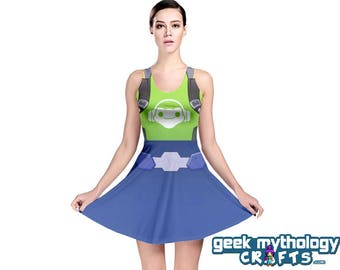 Lucio Inspired Sleeveless Cosplay Dress PREORDER