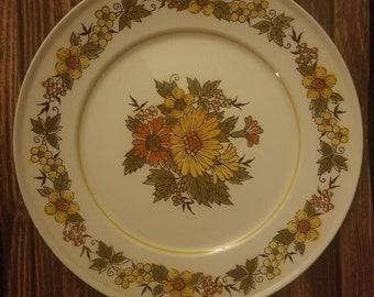 Mod Flower Vintage Serving Plate