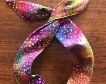 Speckled Wire Twist Headband