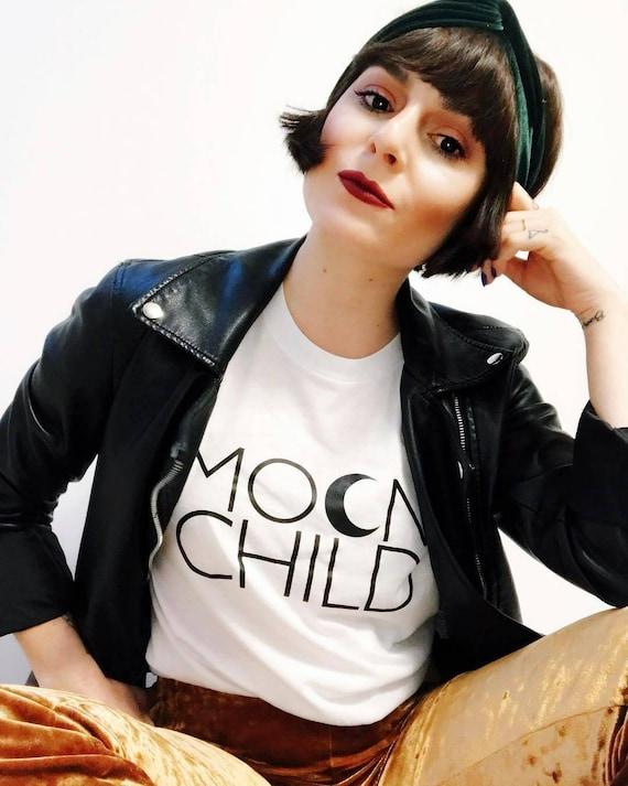 MOON CHILD Tshirt, Moon Child Tee, Moon Child, Stay Wild Moon Child, Moon Child Shirt, Moon Child T, Moon Child T