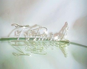 Personalized Wire Wrapped Name Jewelry, Custom Made ,write your name,bracelet,ring,necklace,keychain name