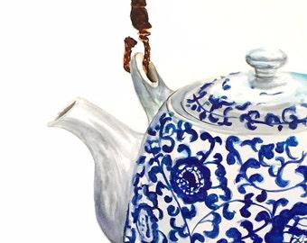 Chinoiserie Teapot