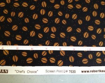 FABRIC -5 yards- Robert Kaufman -Chef's Choice- Coffee Beans