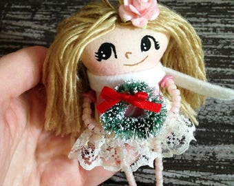 Christmas Girl Ornament