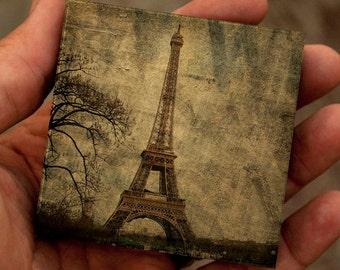 Travel Gift, Eiffel Tower No. 3 Art Block, Eiffel Tower Art, Paris Gifts for Wife, Eiffel Tower Gifts, Paris Art Paris Themed Gifts Under 20