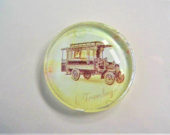Stagecoach cabochons, 30mm. 3CT, Random selection, Cabachon, S44