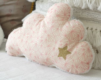 Pillow shaped cloud baby room