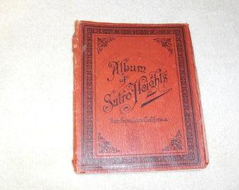 Album of Sutro Heights, San Francisco, California c.1890