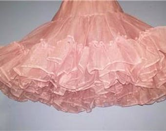 Soft Pink Very Full Crinoline Large #389