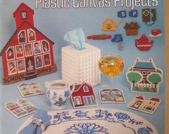 Plastic Canvas Projects 1981 Used 19 pages good condition