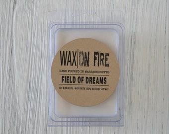 Field of Dreams (Fresh Cut Grass & Flower Scented) Soy Wax Melts