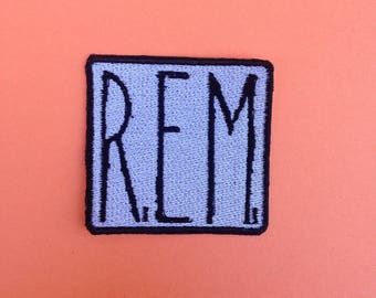 R.E.M. Iron-on Patch