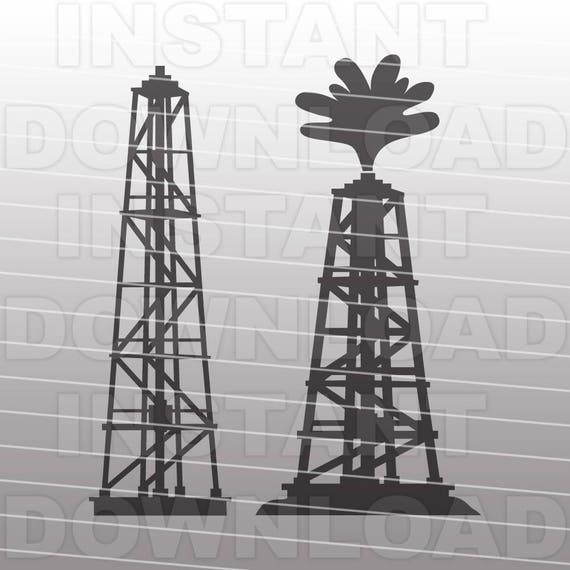 Oil Drilling Rig Svg Fileroughneck Svg Fileoilfield Svg