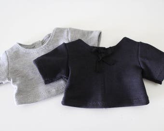 """Short Sleeve Crop T's in 14 Colors Handmade To Fit Popular 18"""" Dolls Like American Girl Doll Clothes or 18"""" Boy Dolls, 18"""" Dolls, Shirt,"""