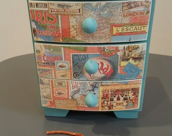 Come Away With Me Shabby Chic World Vintage Mini Drawers