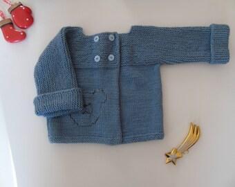 baby boy's cardigan
