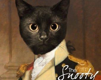 Cat Portrait Custom, Military Cat Portraits, Custom Pet Portraits, Cat Portraits From Photo, Custom Cat Portraits