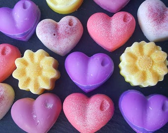 Feeling Fruity   A box of 10 Handmade Decorative Highly Scented Soy Wax Melts of fruity flavours   New Gift Idea
