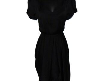 Kuwaha LBD Black Dress