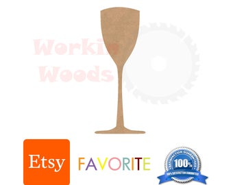 Tall Cup Unfinished, Wood, MDF, Shape, Cutout, USA Made, best selling, paintable, kids, party, events, weddings, college, craft