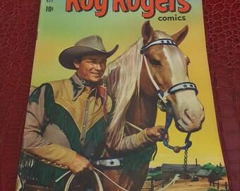 1951 ROY ROGERS #47, 1951 DELL COMICs book