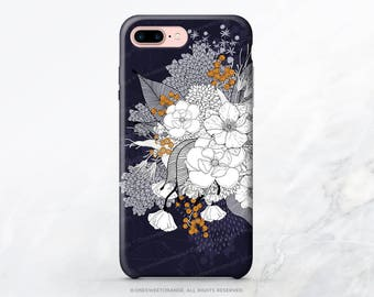 iPhone X Case iPhone 8 Case iPhone 7 Plus Case Floral iPhone 7 Case Floral iPhone SE Case Tough Samsung S8 Case Galaxy S8 Plus Case I167