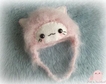 Pullip blythe pink cat hat Cap