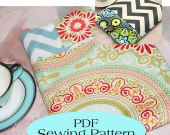 iPad MINI Sleeve with Pocket Pattern , iPad Mini Case Pattern, iPad MINI Cover PDF Sewing Pattern Ebook Sewing Tutorial, Email Delivery