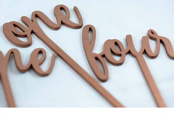 Each Number From 11-20 Laser Cut Table Numbers - Wedding Decor