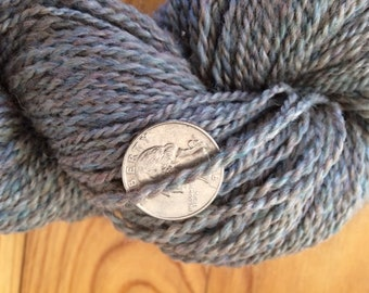 Yarn-alpaca, dyed merino, silk - 2-ply sport weight-alpaca/merino/silk