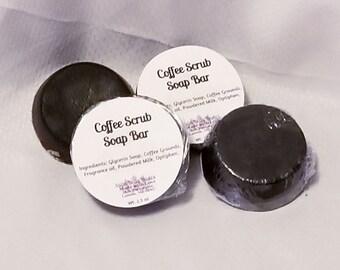 Coffee Scrub Soap Bar