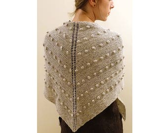Blobble Bliss Shawl Knitting Pattern