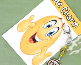 Me Charm Sterling Silver - Me Clip - Keychain Charm - Zipper Pull - Bracelet Charm