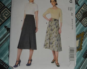 McCalls 6993 Misses Skirts and Belt Sewing Pattern UNCUT - Size  6 8 10 12 14 The Archive Collection Circa 1933