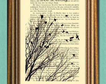WINTER IS COMING -Game of Thrones- Wall art -Dictionary art- Upcycled book page-