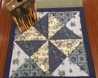Patchwork Tablecloth with Japanese Fabric