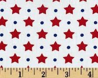 Freedom - Americana Dots & Stars from Robert Kaufman