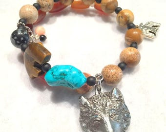 wolf spirit bracelet