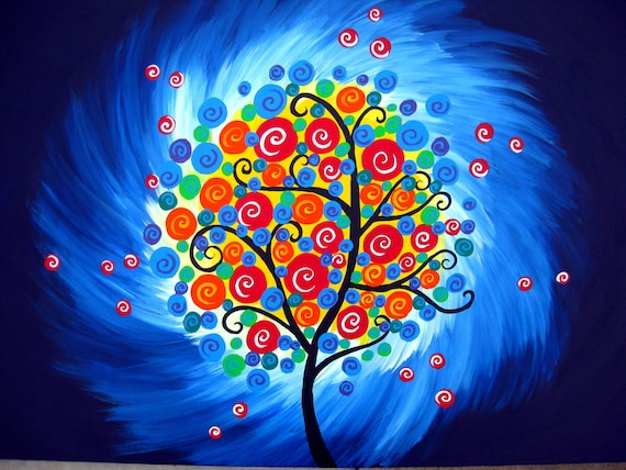 Image result for arbre de vie peinture
