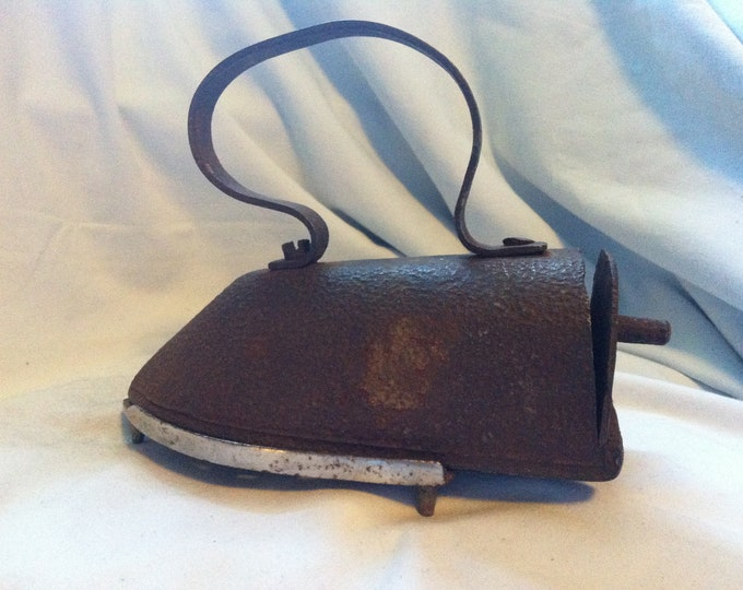 Antique Iron Collector Decoration Object