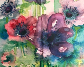 Anemone - Wrapping Paper