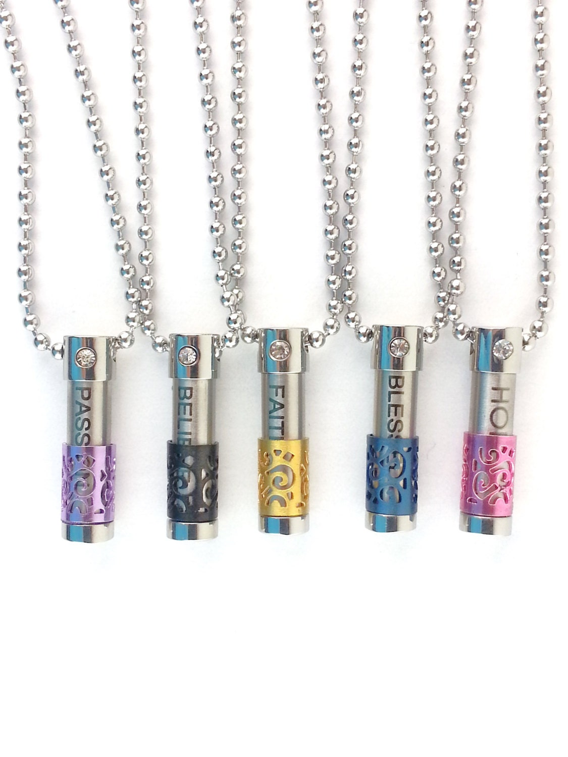 Diffuser necklace aromatherapy necklace essential oil zoom aloadofball Gallery