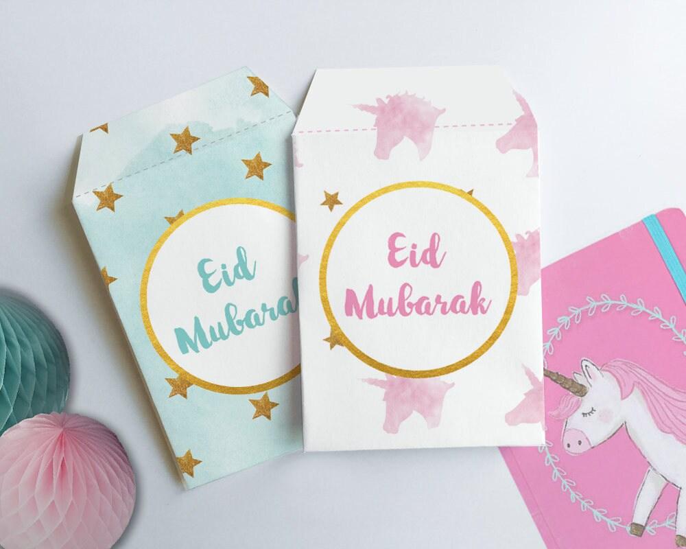 Money Gift Envelope Printable Envelope Template Unicorn