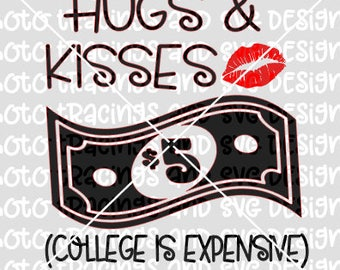 hugs and kisses svg