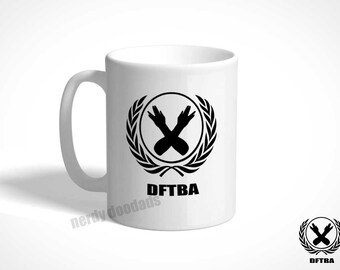 DFTBA Coffee Mug, Don't Forget to Be Awesome Coffee Mug, Don't Forget to Be Awesome, DFTBA, Nerdfighter Coffee Mug, Gift for Nerdfighter