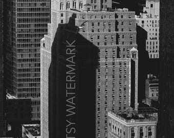 Black & White City Photography - New York City