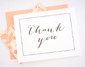 Printable Thank You Cards - Instant Download - Wedding Thank You Cards - Folded Cards